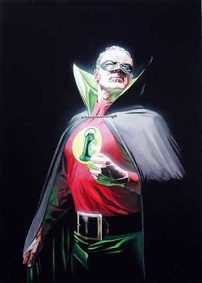 Alex Ross' Golden Age Green Lantern.