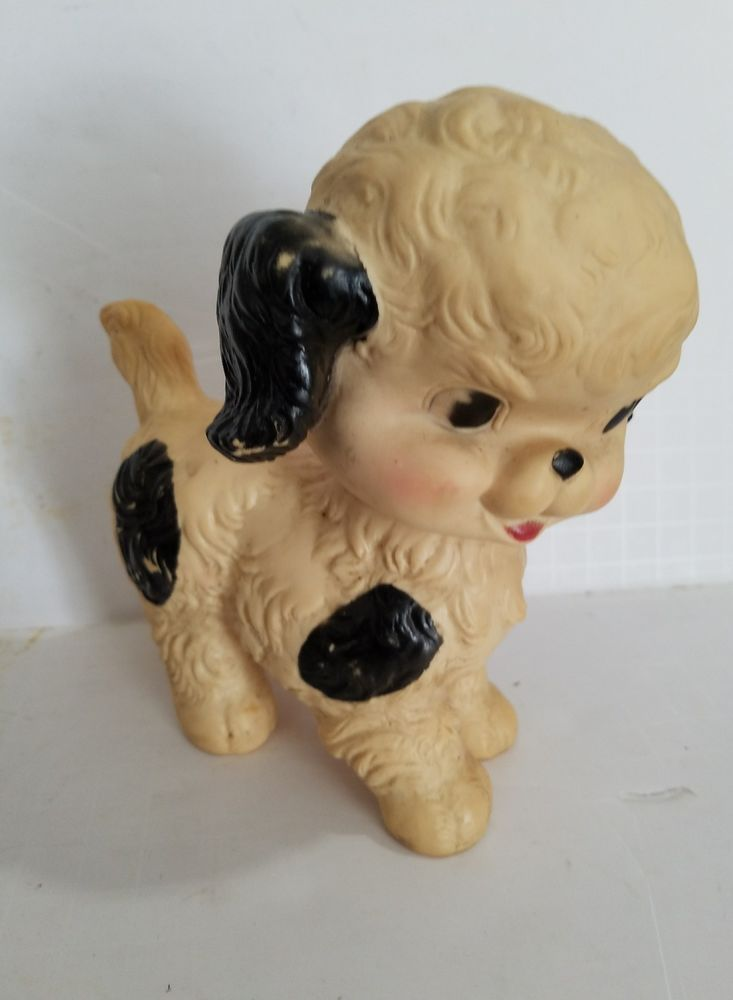 Vintage Baby Toy Squeak Sun Rubber  Ruth Newton White Black Spotted Puppy Dog | Toys & Hobbies, Vintage & Antique Toys, Other Vintage & Antique Toys | eBay!