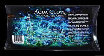 #Crystal #Clear Aquatics aqua glove is great for both aquarium and pond use. The industrial grade, sturdy construction provides effortless cleaning of stubborn al...