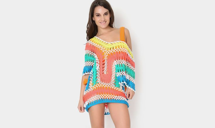 #beach #beachstyle #beachwear #summer #tejido #crochet  #pants #colors #transparencia #playa #fashion #moda #mexicana https://www.facebook.com/peccatumbysolperea
