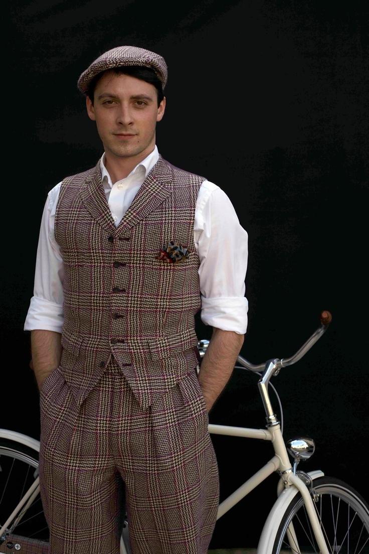 Dashing Tweeds - Cycling suit