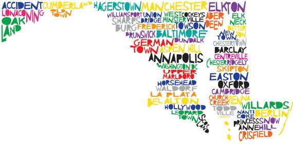 Home...I want one of both of our home states.  She has every state on her site & they are affordable :-)