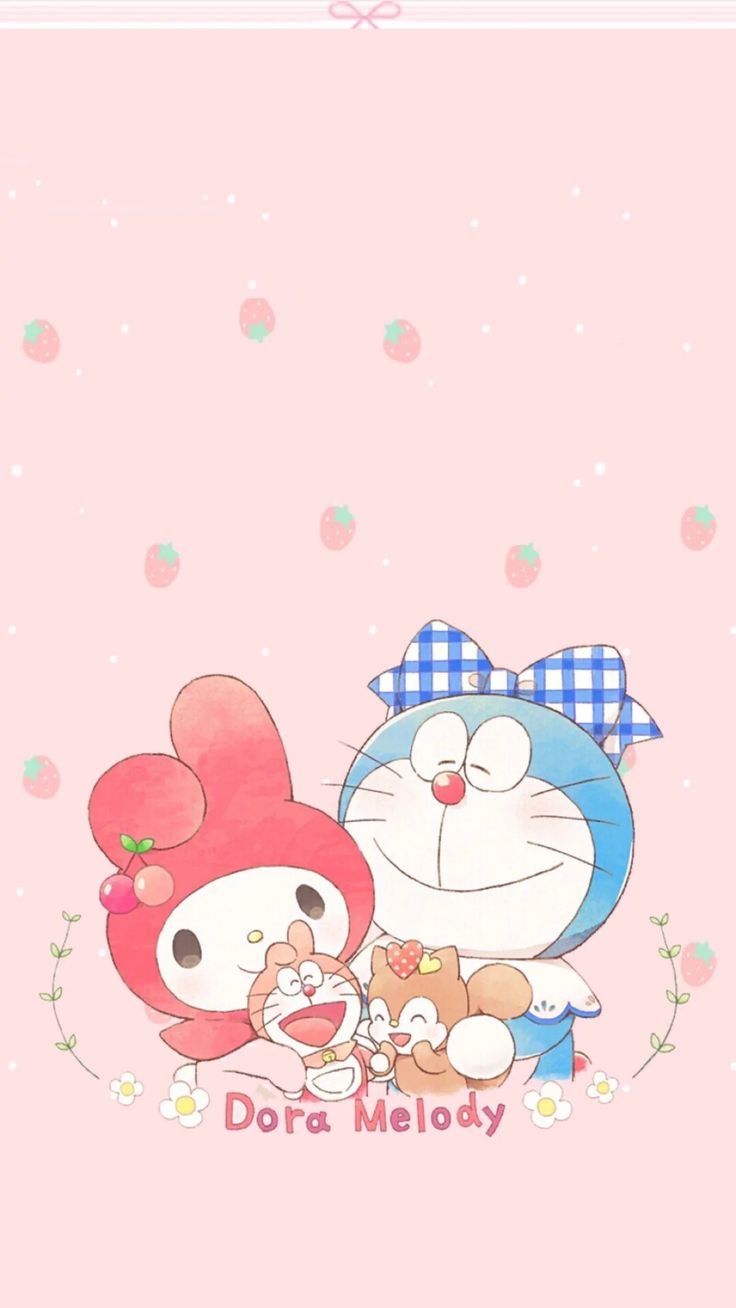 Doraemon, My Melody
