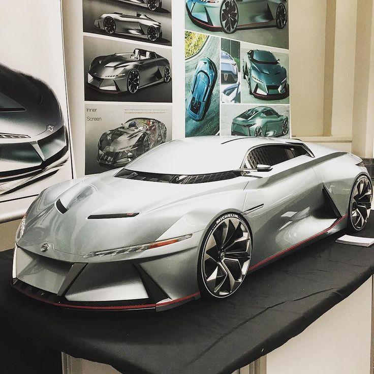 Hao Jiang's #Nissan Nismo concept at #CoventryUniversity #CoventryMA2016