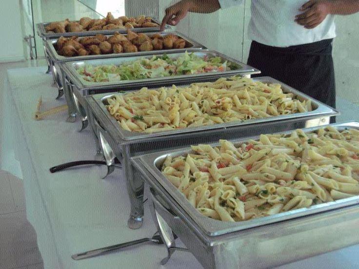 Buffet de Pastas con Fideos Canuto a las finas hierbas y aceite de oliva