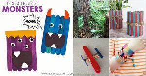50 Fun Popsicle Crafts sollten Sie mit Ihren Kindern diesen Sommer machen Marion Bernhardt