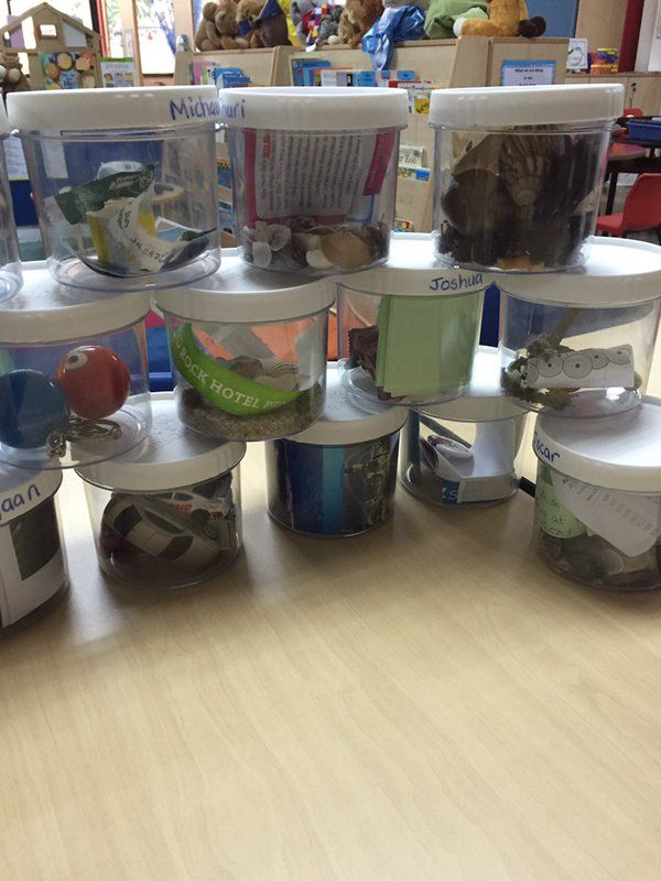 """Sending """"Talking Tubs"""" home is a great way to promote communication, language and partnership with parents."""
