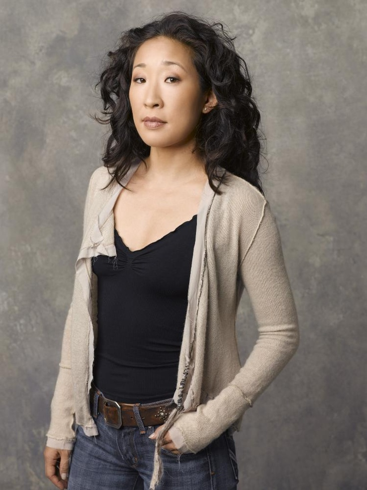Sandra Oh- I love love love her hair too ... I just want these curls