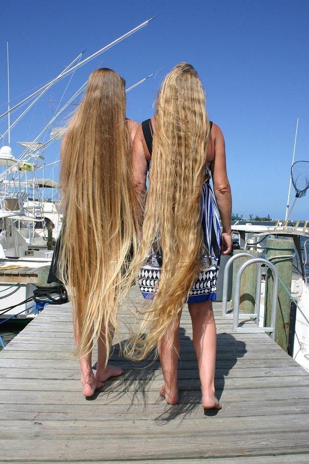 Leona & Mandy - LongHairDivas