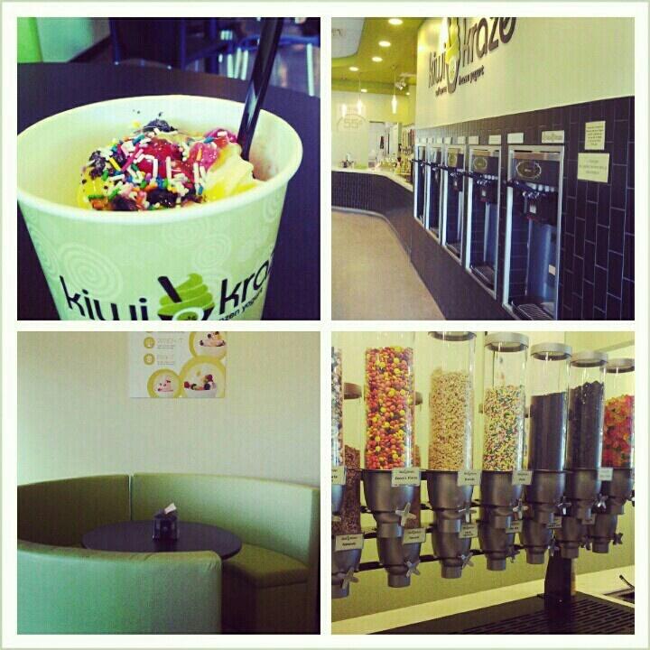 Kiwi kraze #froyo #dessert #candy #icecream
