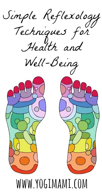 Simple reflexology techniques for health and well-being.