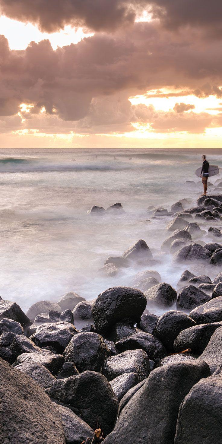 Surfer at Gold Coast - by Matt Glastonbury