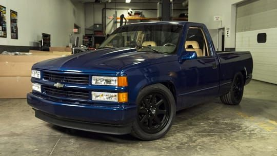 1993 Chevy Silverado Bumper, Grill, Headlight Replacement and Tailgate Handle relocation.