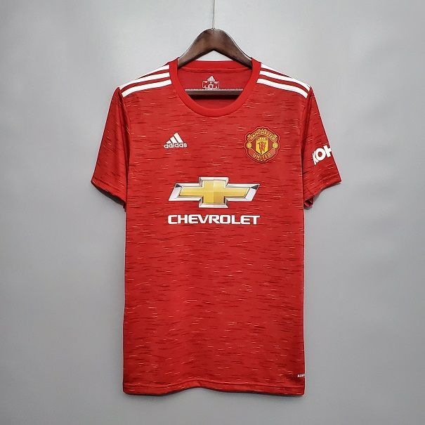 Maillot Manchester United Domicile 2020 2021 Jersey Home Manchester United 2020 2021 In 2020 Manchester United Cheap Football Shirts Manchester