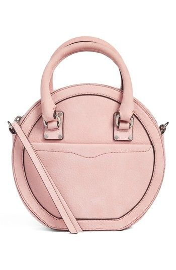REBECCA MINKOFF BREE CIRCLE CROSSBODY BAG - PINK.  rebeccaminkoff  bags   shoulder bags  leather  crossbody   d5789aee5e