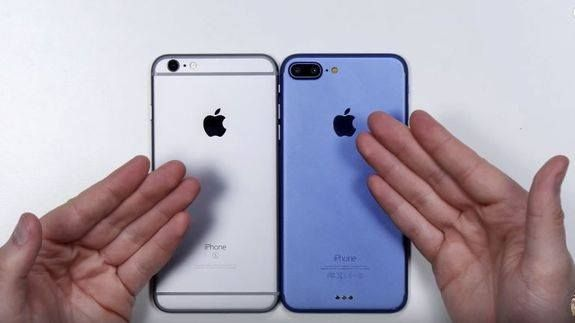 This iPhone 7 mock up looks like the real thing -> http://mashable.com/2016/08/05/iphone-7-plus-mockup/   We've reached a whole new stage of Apple iPhone 7 rumor management.  For months we've watched as iPhone 7 rumors big and small have made their way from Apple's leaky cauldron(?) China(?) Foxconn(?) to the salivating public. They cover everything from size shape number of cameras and ports to memory and potential new colors.  SEE ALSO: Bigger iPhone 7 could be more powerful than the…