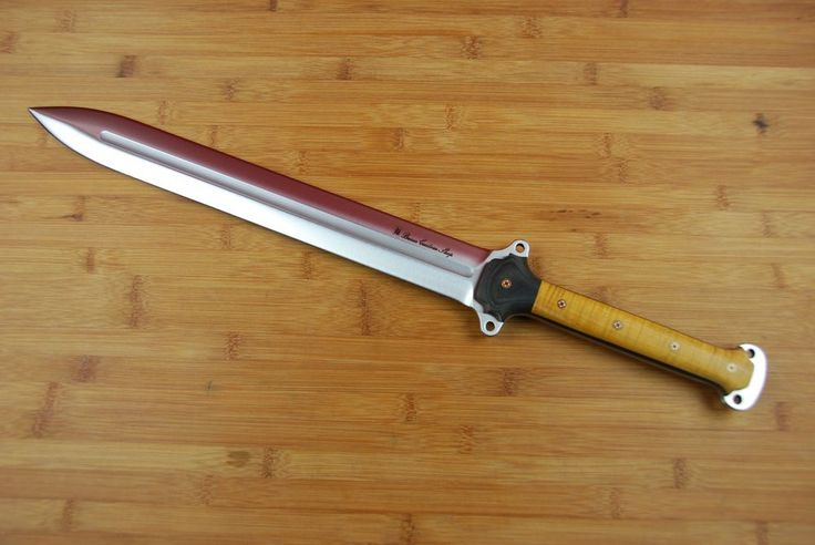 Busse Combat Custom handled satin Gladius INFI Sword knife #BusseCombat