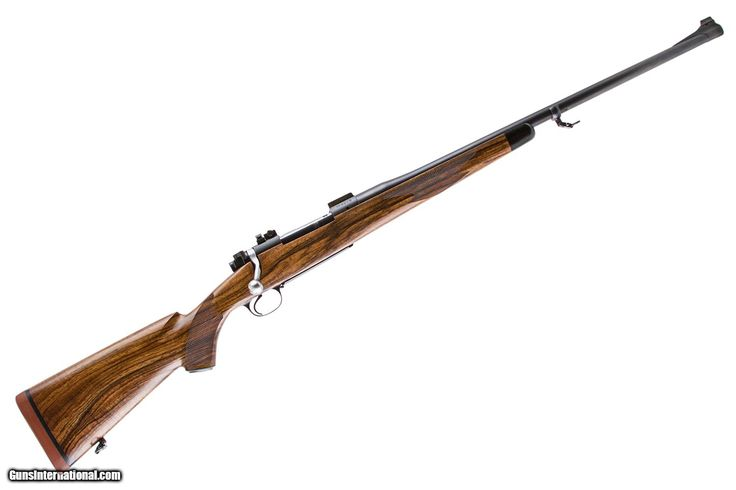 JERRY LARSON CUSTOM WINCHESTER 70 ACTION 338 WINCHESTER MAGNUM