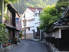 Iwami Ginzan  World heritage site Yunotsu Onsen  Hot spring resort Sea of japan coast