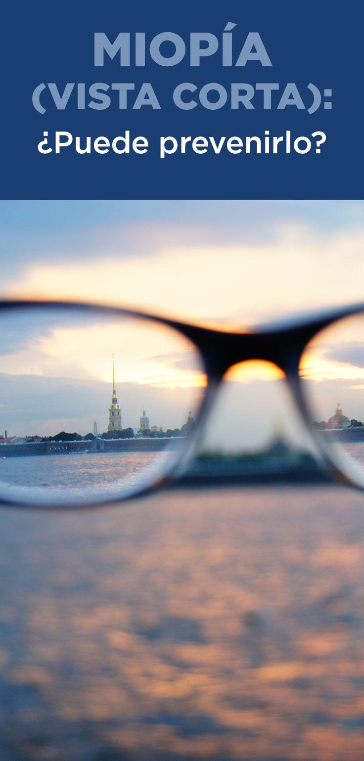 Aprenda acerca de las causas de la miopía y cómo controlarla.
