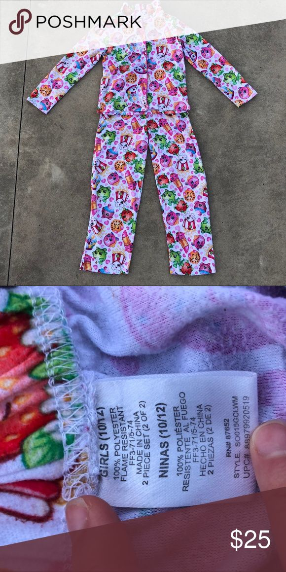 SHOPKINS PAJAMA SET Cute shopkins! Pajamas Pajama Sets
