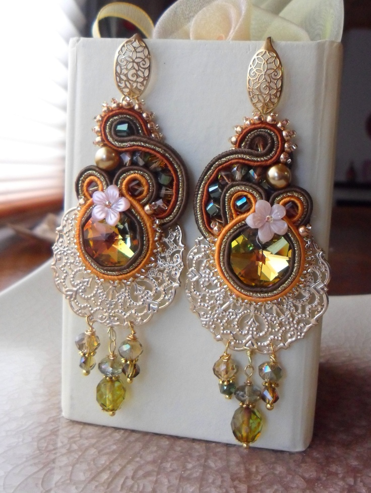Soutache Earrings by Serena Di Mercione