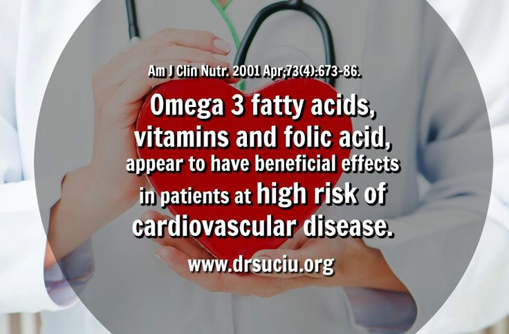 Picture Omega 3, vitamins and cardiovascular disease - drsuciu
