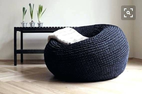 Awe Inspiring Oversized Floor Pillows Giant Pouf Ottoman Extra Large Floor Uwap Interior Chair Design Uwaporg