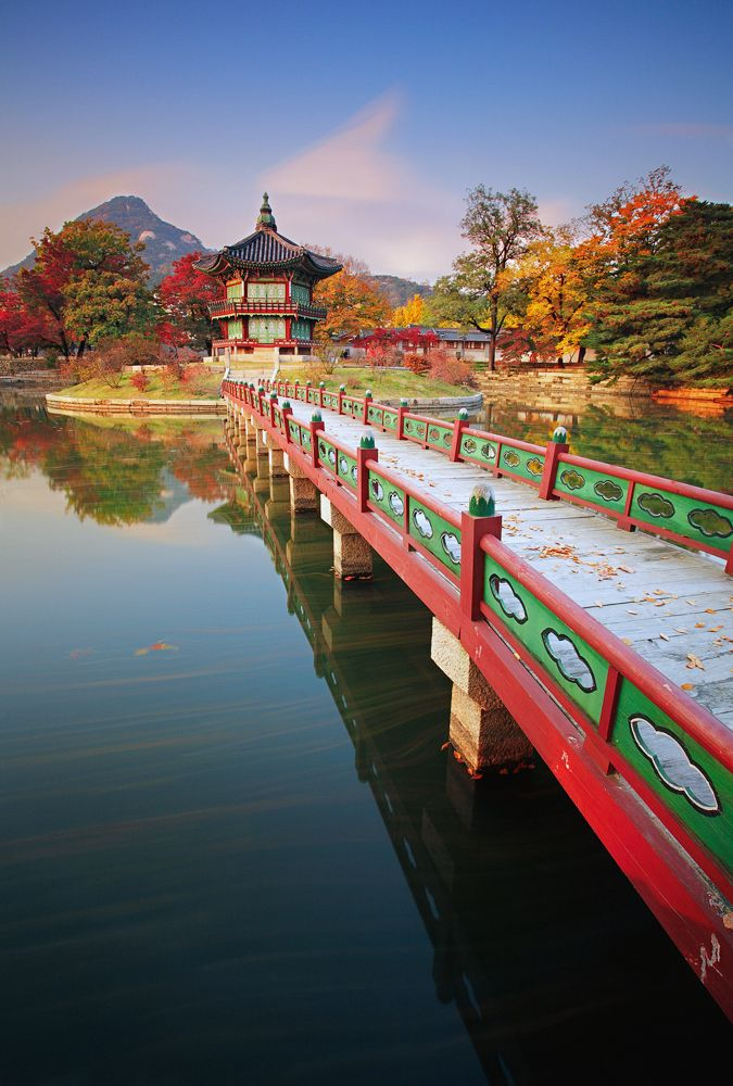 Gyeongbokgung, Seoul, South South Korea                                                                                                                                                                                 Mais