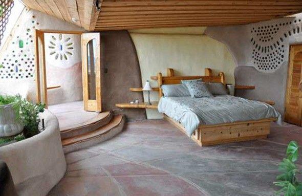 44 best earthbag homes images on pinterest cob houses for Earth bedroom