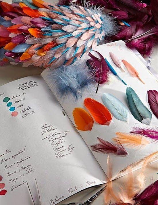 L'art de travailler la plume