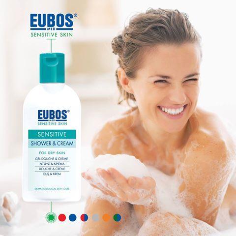 EUBOS SENSITIVE SHOWER & CREAM 200 ml. Απαλό υγρό καθαρισμού για την καθημερινή περιποίηση του σώματος. Με έκπτωση -30%, με ένα κλικ κοντά σας, εδώ --> https://goo.gl/JmfVqj
