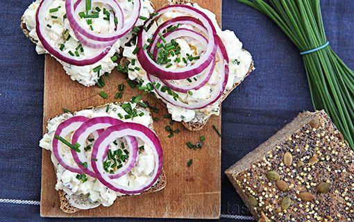 Obložené chleby na silvestrovský stůl. Nové trendy severské kuchyně