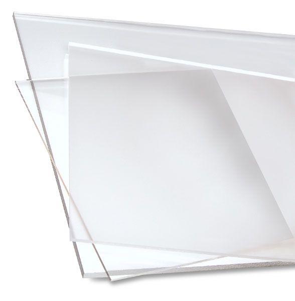 how to make a plexiglass shower door clear