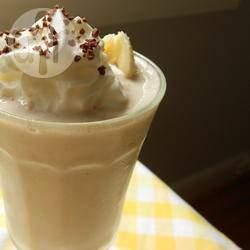 Milkshake van banaan en chocola @ allrecipes.nl