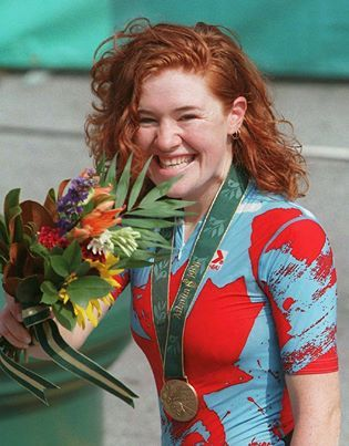 The great Clara Hughes!!! Olympic Medal winner in both the Summer and Winter Olympics. Photo from  Canadian Press
