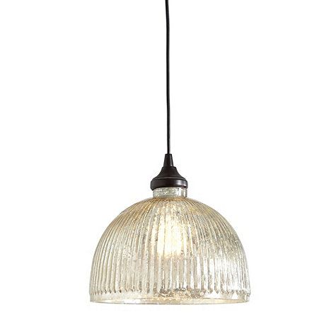 Reinvent your look with our versatile Mercury Glass Pendant lighting. Choose from three unique options to attach your pendant to the ceiling.