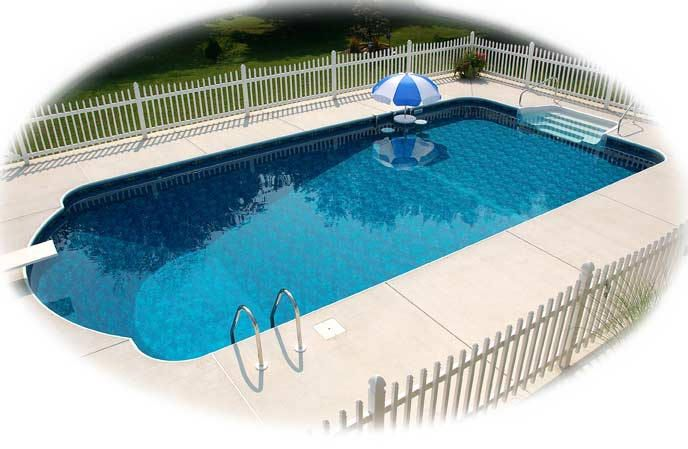 """Precision Pool Products Roman Pool is a rectangular pool with a twist. If you don't want a """"boring rectangle"""" but don't think you can quite handle installing a Mountain Lake or Lagoon this is just the shape for you. It will give you the customized look with a very simple… Continue reading"""