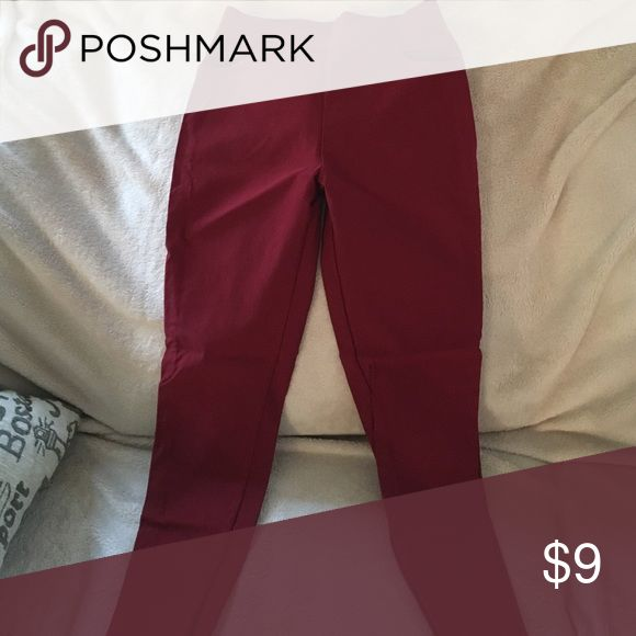 Red legging 4 pockets Red legging in size XS to S Pants Leggings