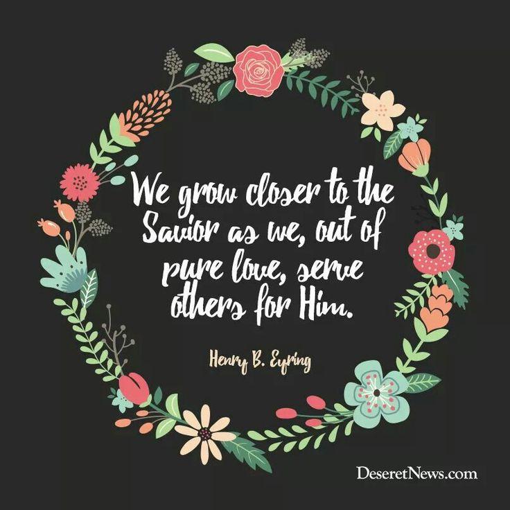 Pure love through service