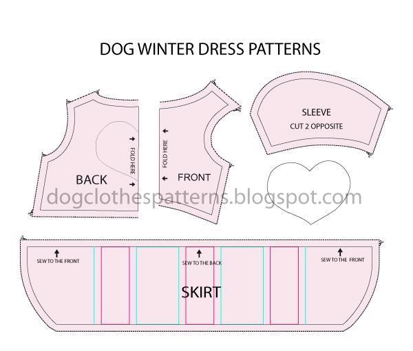 Dog Dress Pattern In 2020 Dog Dress Pattern Winter Dog Pattern