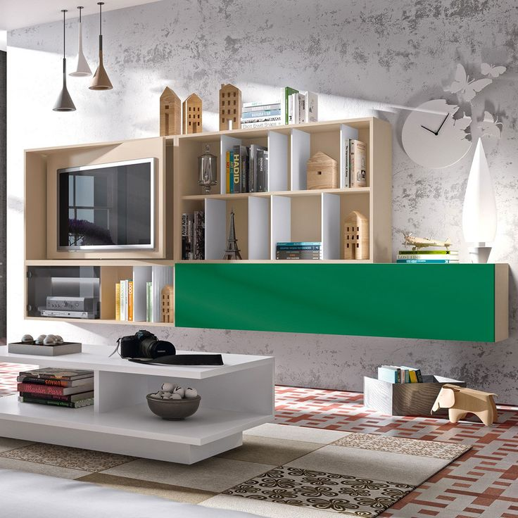 Les 25 meilleures id es concernant meuble tv pivotant sur for Meuble mural couloir