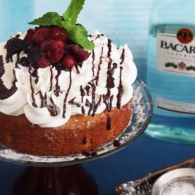 Orange Rum Cake | Butter Rum Cake ~ Sankeerthanam (Reciperoll.com ...