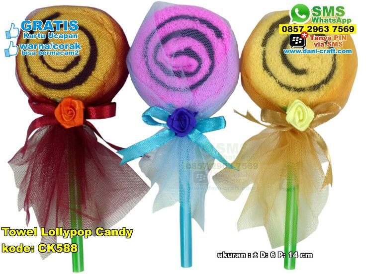 Towel Lollypop Candy WA/SMS/TELP: 0857-4384-2114 atau 0819-0403-4240 #towellollypop #towellollypopmurah #towellollypopunik #towellollypopgrosir #grosirtowellollypopmurah #souvenirtowellollypop #souvenirbahantowel #souvenirpernikahantowellollypop #souvenirtowellollypopunik #jualtowellollypop #jualsouvenirtowel #jualtowelmurah  #TowelLollypop #HargaLollypop #souvenirMurah