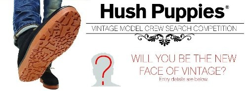 According To Jerri: Hush Puppies South Africa Vintage Model Search Competition