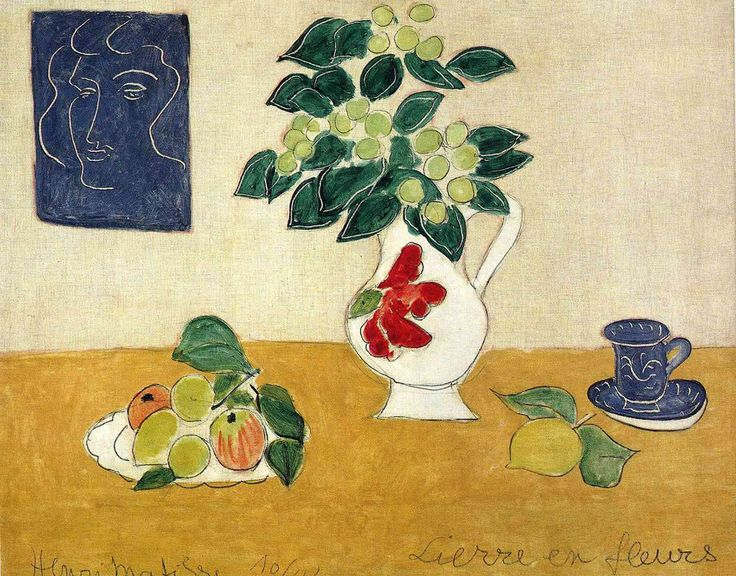 Henri Matisse / Still Life Of Ivy And Flower