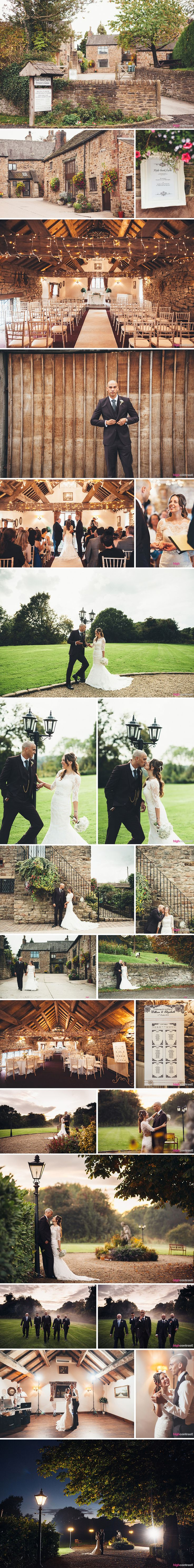 Hyde Bank farm, Romiley, Cheshire - Wedding Day Photos #HydeBank #Romiley #Cheshire #Wedding #couple #married #flowers #barn #lamppost #fog #firstdance #WDP #venue #WeddingVenue #inspiration #Ideas #bridal #portrait #bride #groom #rings #TableSetting #bridge #gardens #ceremony #trees #rural #wooden #beams