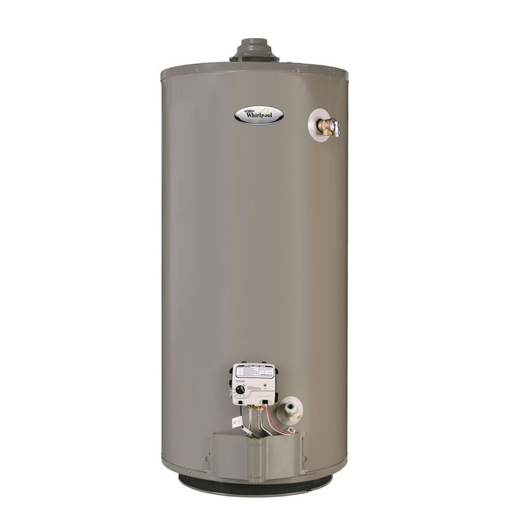 Shop Whirlpool  B4671 40-gal Short Gas Water Heater (Natural Gas) at Lowe
