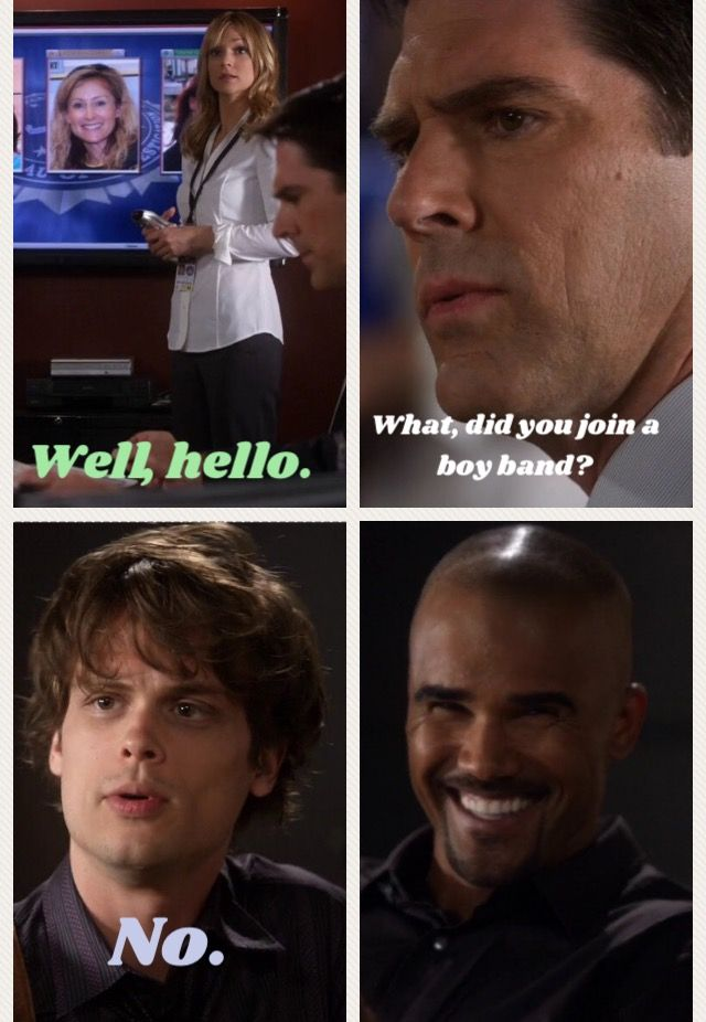 Criminal Minds/Reid's haircut