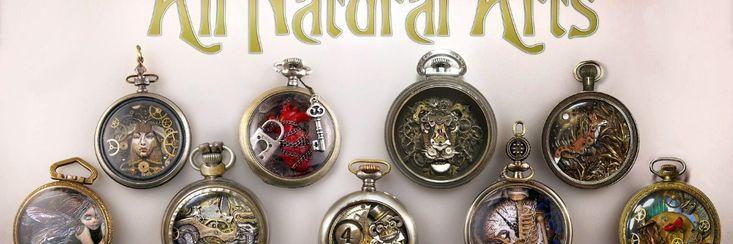 Susan Beatrice geeft oude horloges een tweede steampunk leven